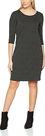 OPUS Weda Newstripe, Vestido para Mujer, Gris (Slate Grey Melange 8055), 40