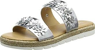 27463109 - Zapatillas de Otra Piel Mujer, Color Plateado, Talla 37 Carvela