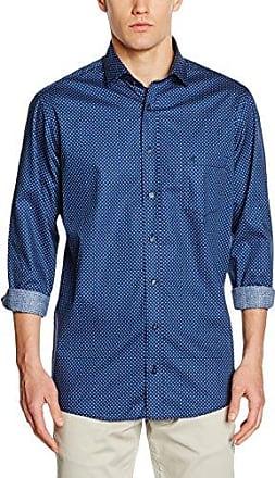 006350, Chemise Casual Homme, Bleu (Blau 100), 6X-Large (Taille du Fabricant: 54)Casamoda