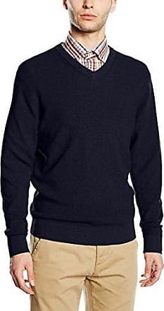462390000-suéter Hombre Azul (Blau 135) Medium Casamoda YN9ROm