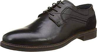Casanova C06413 - Zapatos de Cordones de Sintético Hombre, Negro (Negro (Noir)), 41 EU