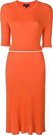 Desideria midi dress - Yellow & Orange Cashmere in Love oyCXK2Q