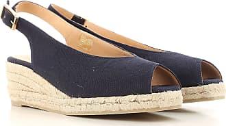 Zapatos de Tacón de Salón Baratos en Rebajas, Coral, Lona, 2017, 35 36 37 38 40 41 Castaner