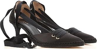 Pumps & High Heels for Women On Sale, Onyx Black, satin, 2017, 2.5 3.5 4.5 5.5 7.5 Castaner