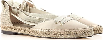 Ballet Flats Ballerina Shoes for Women On Sale, Green, Silk, 2017, 2.5 3.5 4.5 5.5 Castaner