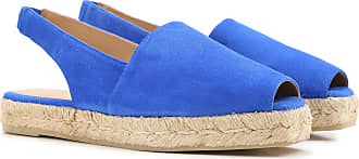 Sandals for Women On Sale in Outlet, Electric Blue, Suede leather, 2017, 2.5 3.5 4.5 Castaner