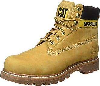 Cat Scarpe da escursionismo, Uomo, Giallo (Yellow (Honey)), 44 (10 UK)
