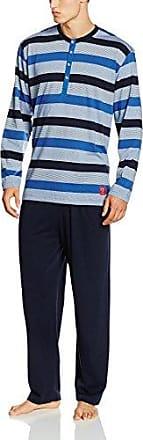 30556-5665-Pijama Hombre Blau (Navy 8411) Large (Talla del Fabricante: 52) Ceceba xHcosGCRf