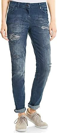 Cecil Janet True Colours, Pantalones para Mujer, Grau (Dark Silver 10126), 34W x 32L (Talla del fabricante: 26)