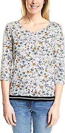 311872, T-Shirt Femme, Blanc (Pure Off White 30125), XLCecil