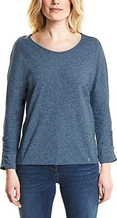 340681, T-Shirt Manches Longues Femme, Bleu (Deep Petrol Blue 31087), MCecil