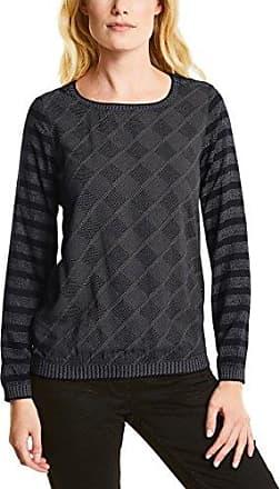 311667, T-Shirt Manches Longues Femme, Noir (Black 30001), XSCecil