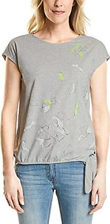 311961, T-Shirt Femme, Multicolore (Mineral Grey Melange 30327), SCecil