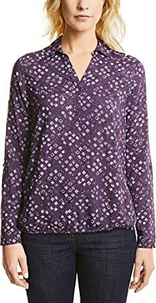 Eterna R665, Blusa para Mujer, Multicolor (Lila/Weiß 93), 40