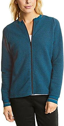 252636, Gilet Femme, Multicolore (Indigo Light Blue 31247), LargeCecil