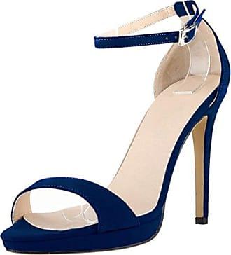 CFP , Damen Peep Toes , blau - himmelblau - Größe: 36.5
