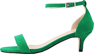 CFP , Damen Knöchel-Riemchen , grün - grün - Größe: 37.5