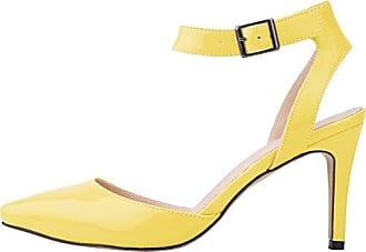 CFP , Damen Plateau , gelb - gelb - Größe: 35.5