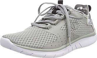 Champion Low Cut Shoe Alpha, Zapatillas de Running para Mujer,Blanco (White/Black/Silver Melange Ww006),40.5 EU