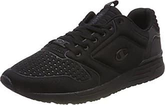 Champion Low Cut Shoe Alpha, Chaussures de Running Compétition Femme,Noir (New Black/Safety Yellow Kk003), 45