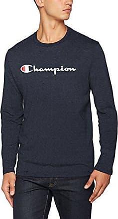 Crewneck Sweatshirt Ev.0, Sudadera para Hombre, Negro (Nbk), XX-Large Champion