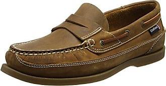 Bowker - Zapatos Sin Cordones de Cuero Hombre, Color Marrón, Talla 39 Chatham Marine