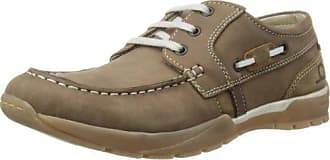 Chantelle Drifter - Zapatos de cordones, color Borgoña, talla 7 UK F