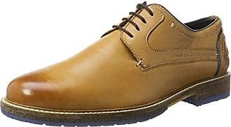 Chatham Marine Carnaby - Zapatos de cordones, color Beige/Orange, talla 7 UK F
