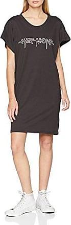 Media Dress Hacker Outline, Robe Femme, Noir (Black), 36(Taille du Fabricant: X-Small)Cheap Monday