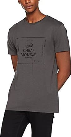659 Hombre Gris Camiseta Grey Para Tee Logo Box Standard Large Dark aFOwqH