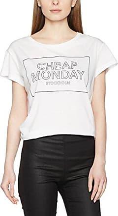 T-Shirt - Femme - Rose (Strawberry Pink) - SCheap Monday Acheter Recommande Pas Cher UiIqRMU
