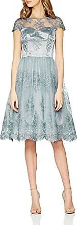 Chi Chi London Susana, Vestido de Fiesta para Mujer, Marfil (Lilac LI), 44