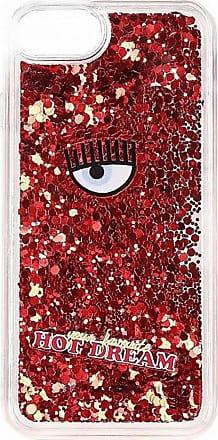 Iphone 6/7 S6 / S7 rote Abdeckung Chiara Ferragni bCR3WHV