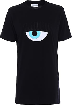 T-Shirt for Women On Sale, Fuxia Fluo, Cotton, 2017, 10 6 8 Chiara Ferragni
