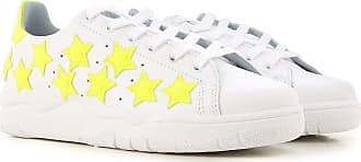 Sneakers for Women On Sale, White, Leather, 2017, 2.5 3.5 4.5 5.5 Chiara Ferragni