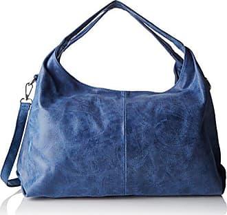 Damen Bowlingtaschen, Blau (Blu Scuro), 30 cm Chicca Borse