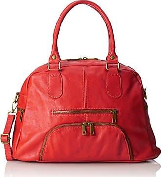 Damen Handtaschen, Orange (Cuoio), 47 cm Chicca Borse