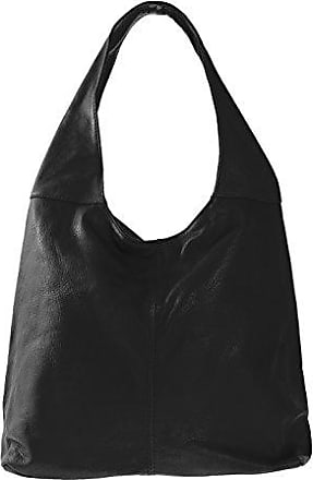 CTM Womens medium tote bag, 16x21x4, 100% Genuine leather Made in Italy Chicca Tutto Moda
