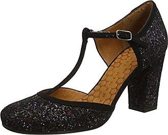 Anie - Zapatos con Tacón Mujer, Color Negro, Talla 37 Chie Mihara