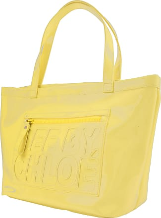 Tote Bag On Sale, See By Chloe, Yellow, PVC, 2017, one size Chlo