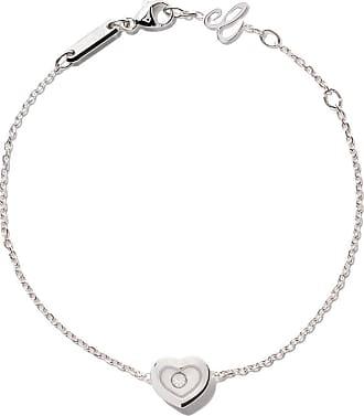 Chopard 18kt white gold Happy Diamonds Icons bracelet - Unavailable Peoq9GDh