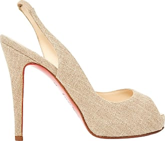 Seconda mano - Sandali Private Number in Pelle Christian Louboutin Jd8LkdW4dx
