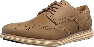 Chung Shi Sensomo I - Zapato Brogue de Piel Hombre, Color Marrón, Talla 45,5