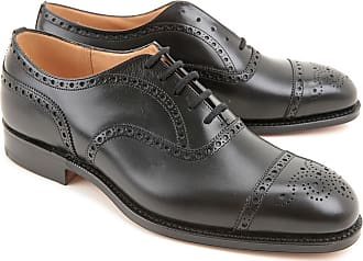 Lace Up Shoes for Men Oxfords, Derbies and Brogues On Sale, Ebony, Leather, 2017, 6.5 Churchs