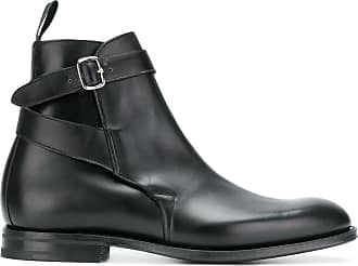Boots for Women, Booties On Sale, Ebony, Polished leather, 2017, 7.5 Churchs