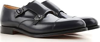 Chaussures Sangle Moine Pour Les Hommes En Vente, Noir, Cuir, 2017, 39 40 43 44 Doucal Pour
