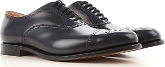 Lace Up Shoes for Men Oxfords, Derbies and Brogues On Sale, Black, Leather, 2017, 10 9.5 Churchs