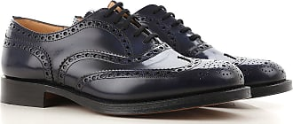 Lace Up Shoes for Men Oxfords, Derbies and Brogues On Sale, Black, Leather, 2017, 6 7.5 8 9.5 Churchs