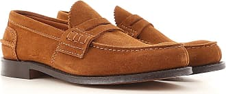 Brogue Shoes On Sale in Outlet, Rust, Suede leather, 2017, 10.5 Churchs