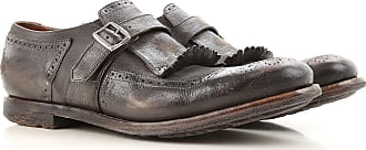 Monk Strap Shoes for Men On Sale, Ebony, Suede leather, 2017, 11 8 Churchs